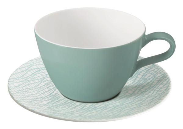 L Fashion green chic Milchkaffeeobertasse 0,37l