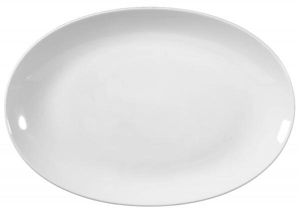Rondo/Liane weiß Servierplatte oval 38 cm