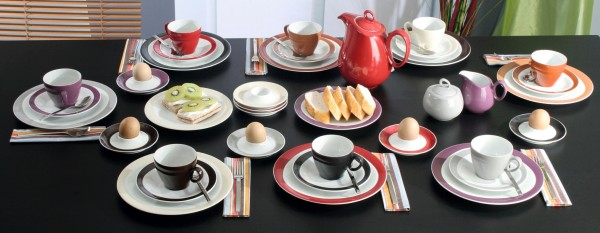 Trio Rubinrot Kaffee Service 18-tlg.