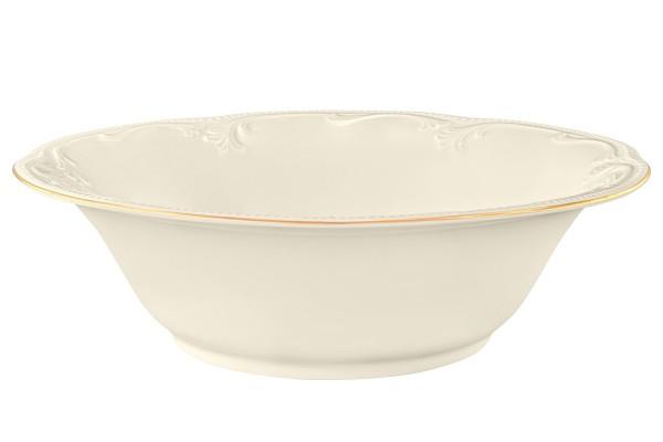 Rubin cream Goldrand Schüssel 23 cm
