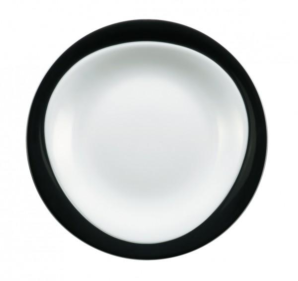 Frühstücksteller 23cm Trio schwarz