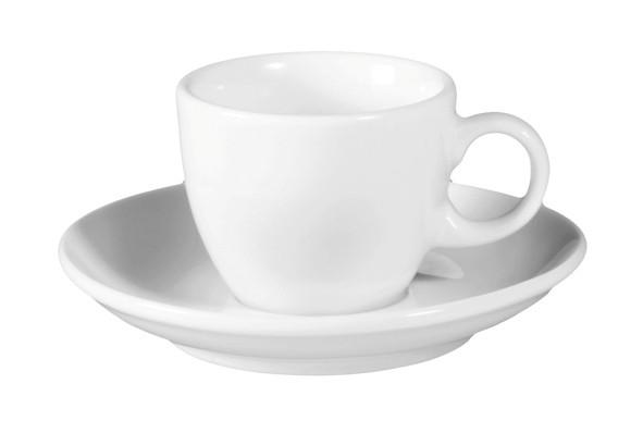 VIP.weiß Espressotasse+ Untertasse 0,09l
