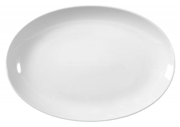 Rondo/Liane weiß Servierplatte oval 35 cm