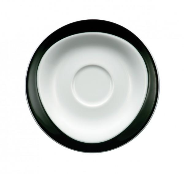 Kaffee-Untere 16cm Trio schwarz