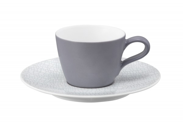 L Fashion elegant grey Espressoobertasse 0,09l