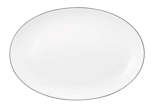 Lido Black Line Platte oval 35 cm