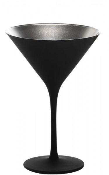 Elements Cocktail Schwarz-Silber (6er Set)