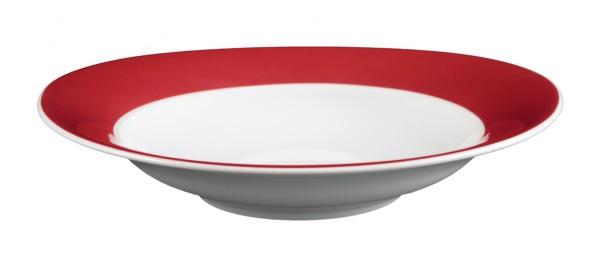 Suppenteller 23cm Trio rubinrot