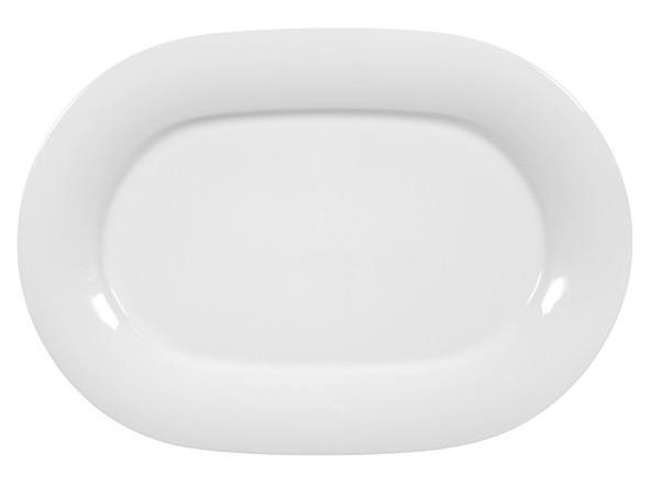 Jade uni Servierplatte oval 37cm