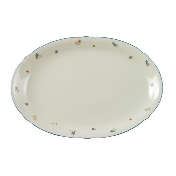 Platte 35cm oval Marie-Luise Streublume