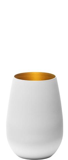 Elements Becher Weiß/Gold 6er Set