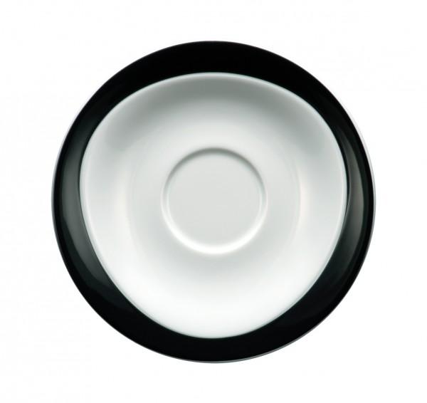 Frühstück-Untere 17,5cm Trio schwarz