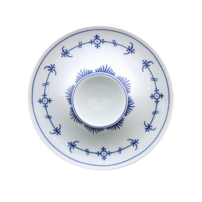 indischblau eierbecher mit ablage indisch blau by winterling marken. Black Bedroom Furniture Sets. Home Design Ideas