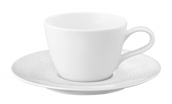 Life Fashiion luxury white Kaffeeobertasse 0,24l