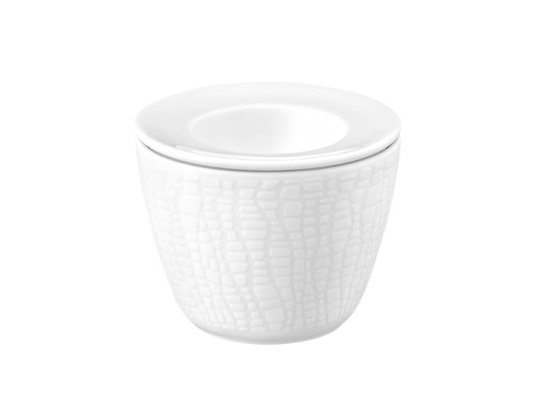 L Fashion luxury white Snack and Egg 2-tlg.