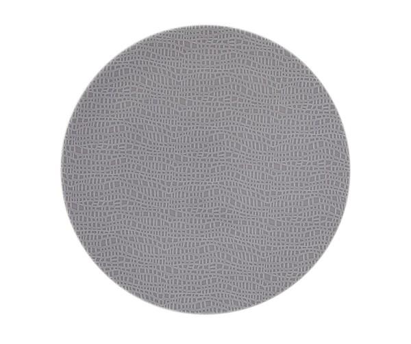 L Fashion elegant grey Frühstücksteller rund 22,5cm