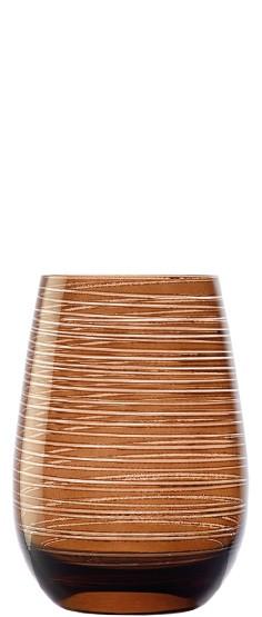 Twister Becher Braun 6er Set