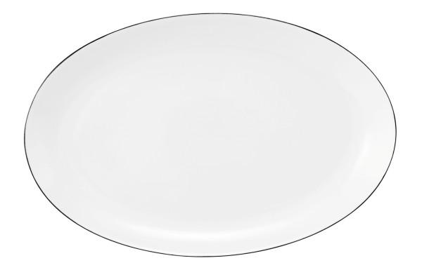 Classique Noir Servierplatte oval 30,5x20cm