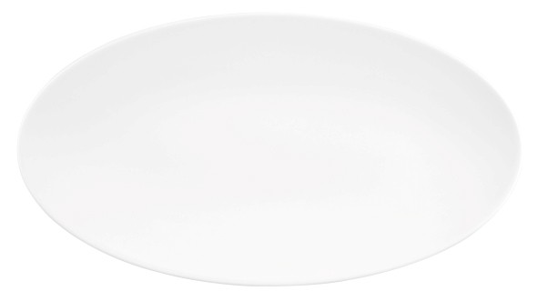Servierplatte oval 40x26cm Life Uni