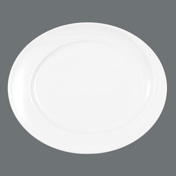 Platte 31cm oval Paso uni