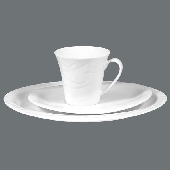 allegro uni kaffeeservice 20 tlg kaffeeservice service geschirr. Black Bedroom Furniture Sets. Home Design Ideas