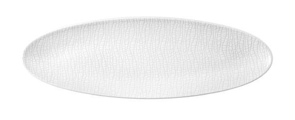 L Fashion luxury white Servierplatte schmal 44x14 cm