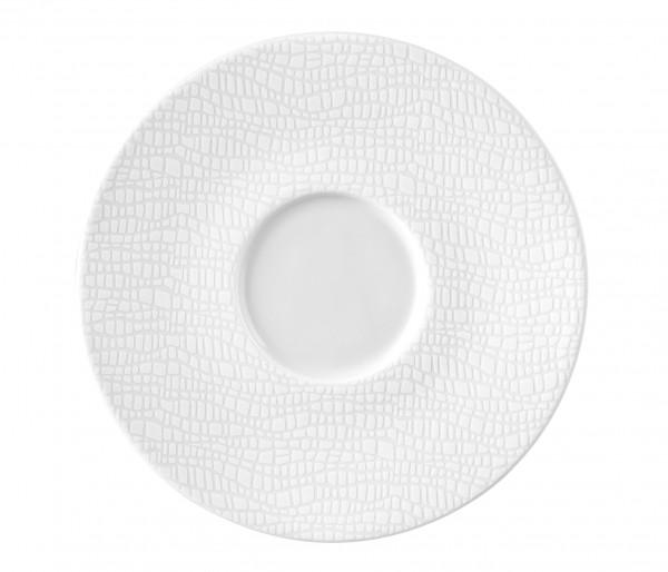 L Fashion luxury white Kombi-Untertasse 16,5cm
