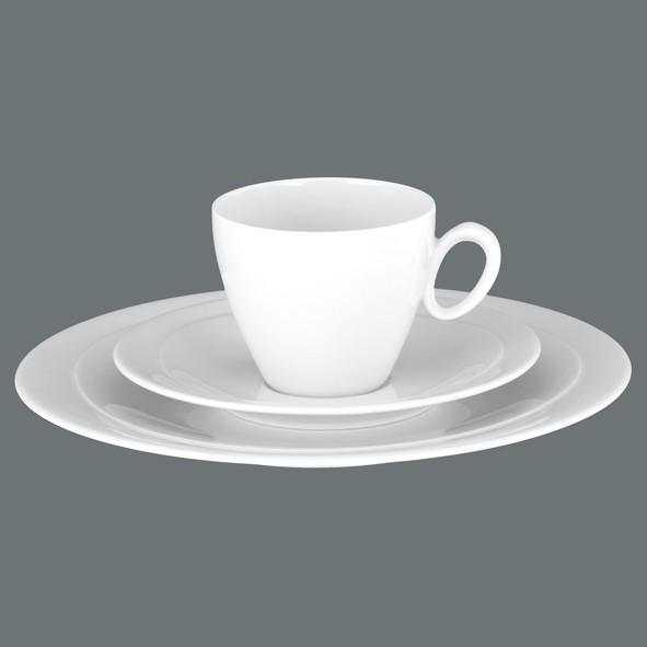 Kaffee-Gedeck 3tlg. Trio Uni