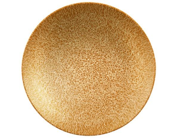 Life Molecule Amber Gold Pasta-/Suppenteller 23cm