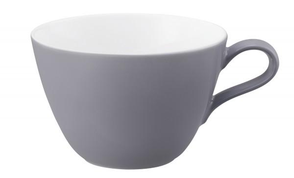 Life fashion elegant grey Milchkaffeeobertasse 0,37l