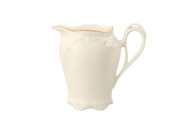 Rubin cream Goldrand Milchkännchen 0,16l