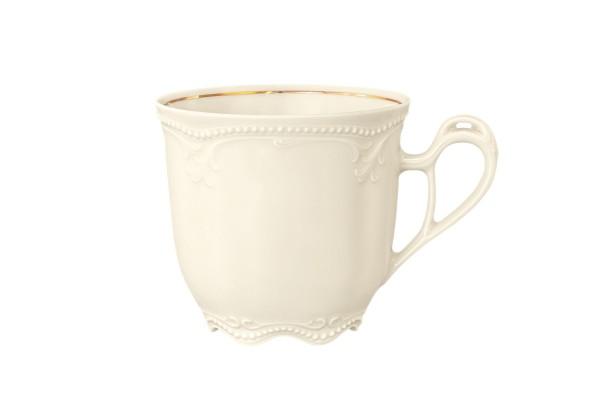Rubin cream Goldrand Kaffeeobere 0,21l