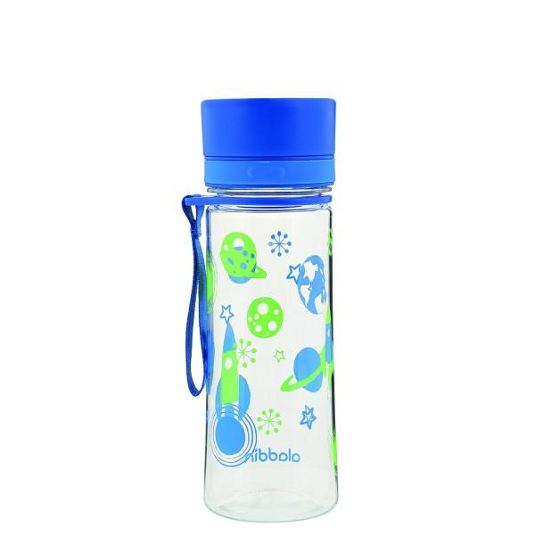 Wasserflasche Aveo Blau mit Grafik Kids