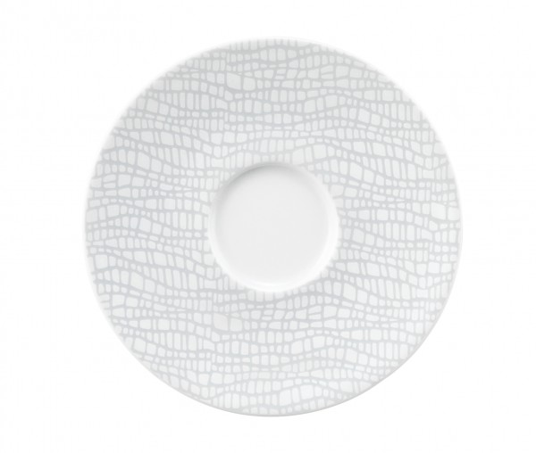 Life fashion elegant grey Kombi-Untertasse 13,5cm