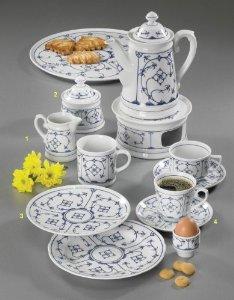 indischblau kaffee service 20 tlg indisch blau by winterling marken. Black Bedroom Furniture Sets. Home Design Ideas
