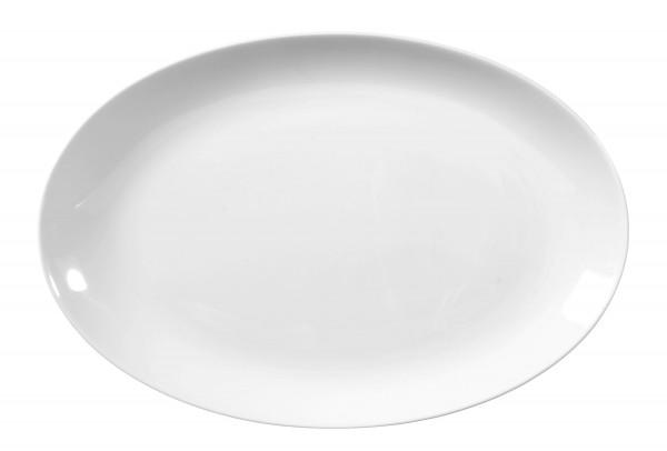 Rondo/Liane weiß Servierplatte oval 28 cm