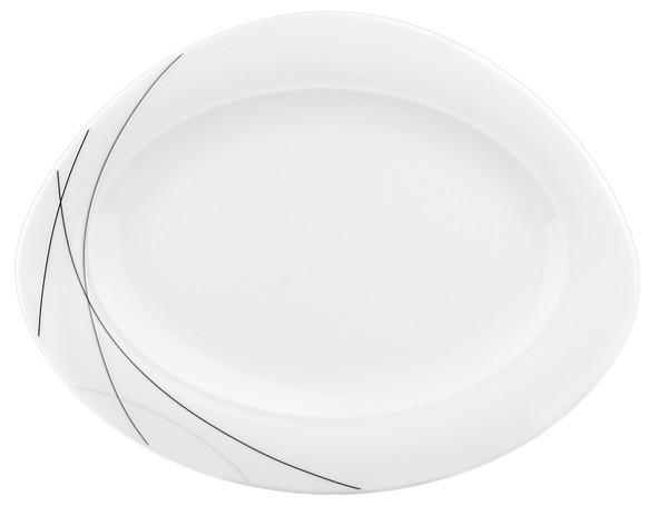 Platte oval 31cm Trio Highline