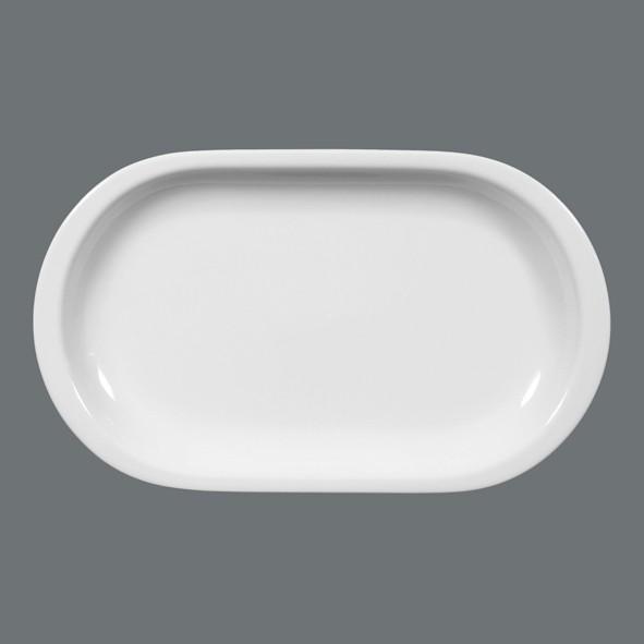 Platte Oval 29cm Compact Uni