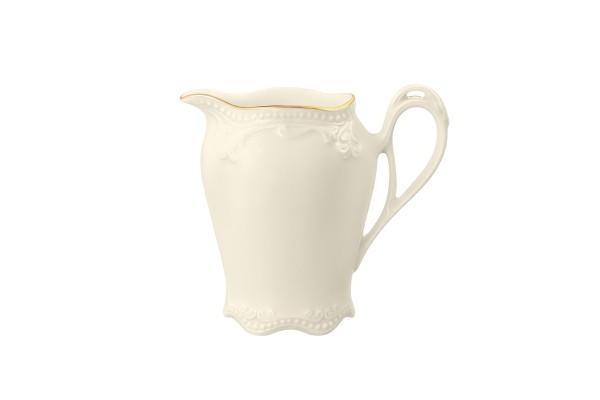 Rubin cream Goldrand Milchkännchen 0,10l