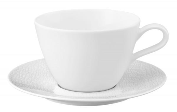 L Fashion luxury white Milchkaffeeobertasse 0,37l