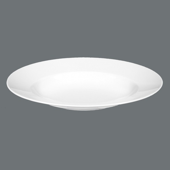 Pastateller oval 32cm Lukullus Weiß Uni